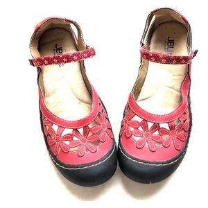 Super cute red Jambu shoes sz 11 EUC